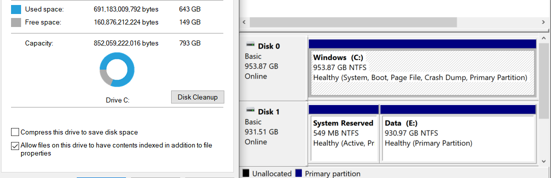 Size of all files don't add up to total space used shown in 'This PC' 5db92db6-0396-48a0-b83c-d44f971687e0?upload=true.png