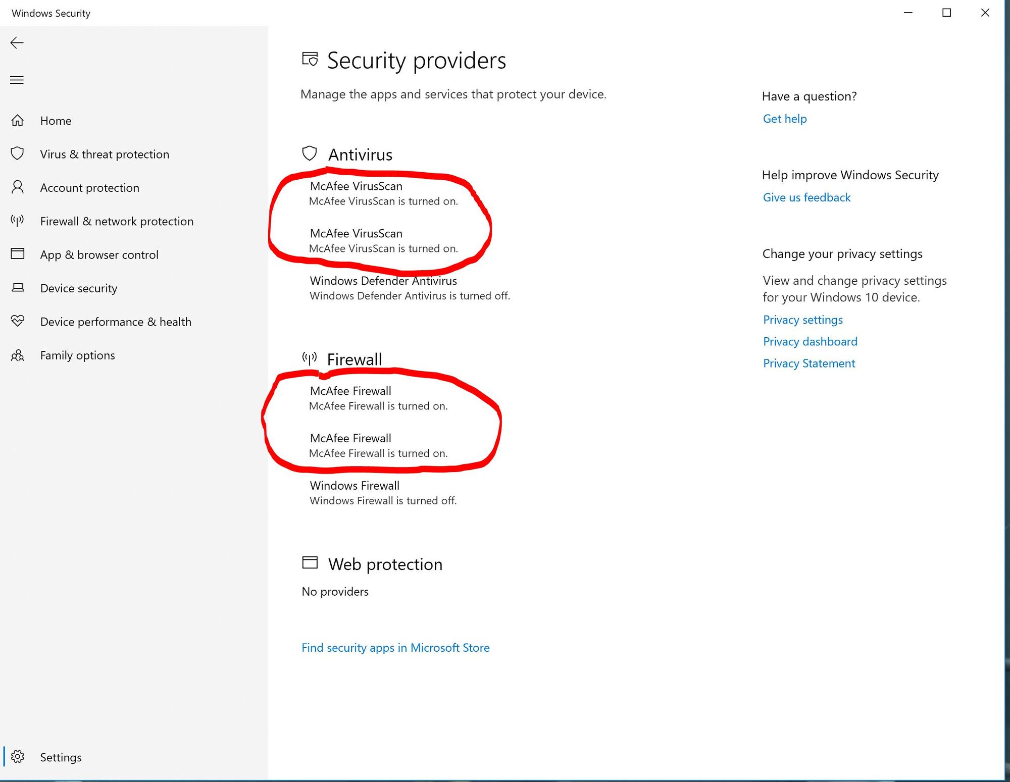 Windows Security - Showing TWO 2 Mcafee Apps in Settings Security since last Windows Update 5fb2d2fb-007d-496f-b04b-f5dc81266da2?upload=true.jpg