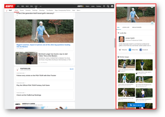 Reverse image search in Edge's Bing sidebar will soon be (a bit) easier and faster. 626x444?v=v2.png
