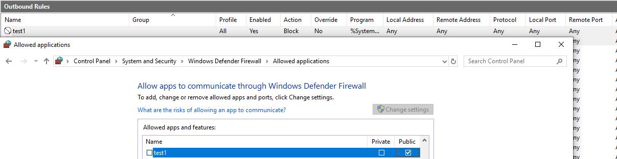 Windows Firewall -- Blocking a program causes it to be allowed 62beae28-9afa-4be0-a4a4-d6b8cbdce5a6?upload=true.png