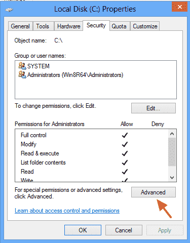 Accidentally deny all my full control in my Local Disk C: 63ef115c-9343-4370-80cc-26bb78ef60d0.png