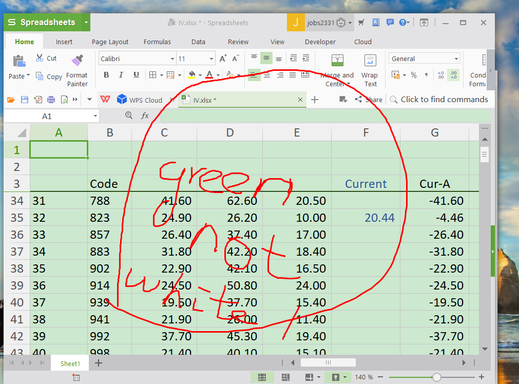 excel worksheet's background turns to green color instead of white 641cbb22-7035-4185-8098-21db61ba61ba?upload=true.png