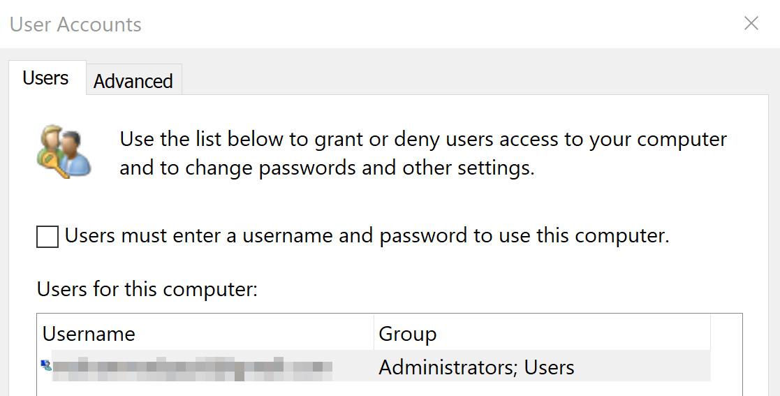 Windows Hello fingerprint scanner only works when I bypass username