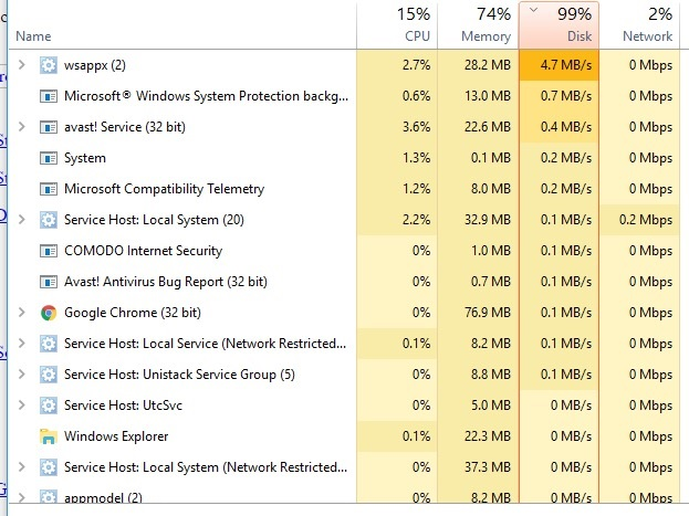 Memory usage 99% of 16GB but it's not if I add up everything in task manager 67f58f1c-6540-4fa3-ab46-2e51a5419881.jpg