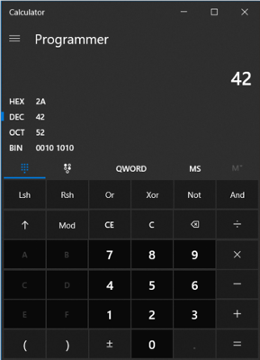 Announcing the Open Sourcing of Windows Calculator for Windows 10 6a28a934d3ee817a6da19ca1db264340.png