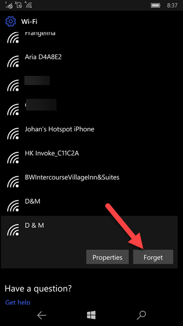 Issues when forgetting the known networks Wi-Fi 6b2ff85e-2cf4-4ad8-bae6-3fb0c3fa12d3?upload=true.png