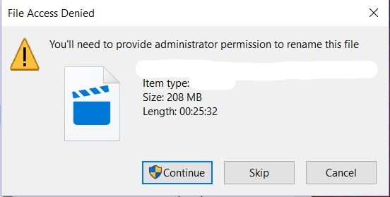Getting Access Denied Error When Trying To Rename A File. 6c762192-7c51-4ebc-940b-c4741a84c37e?upload=true.jpg