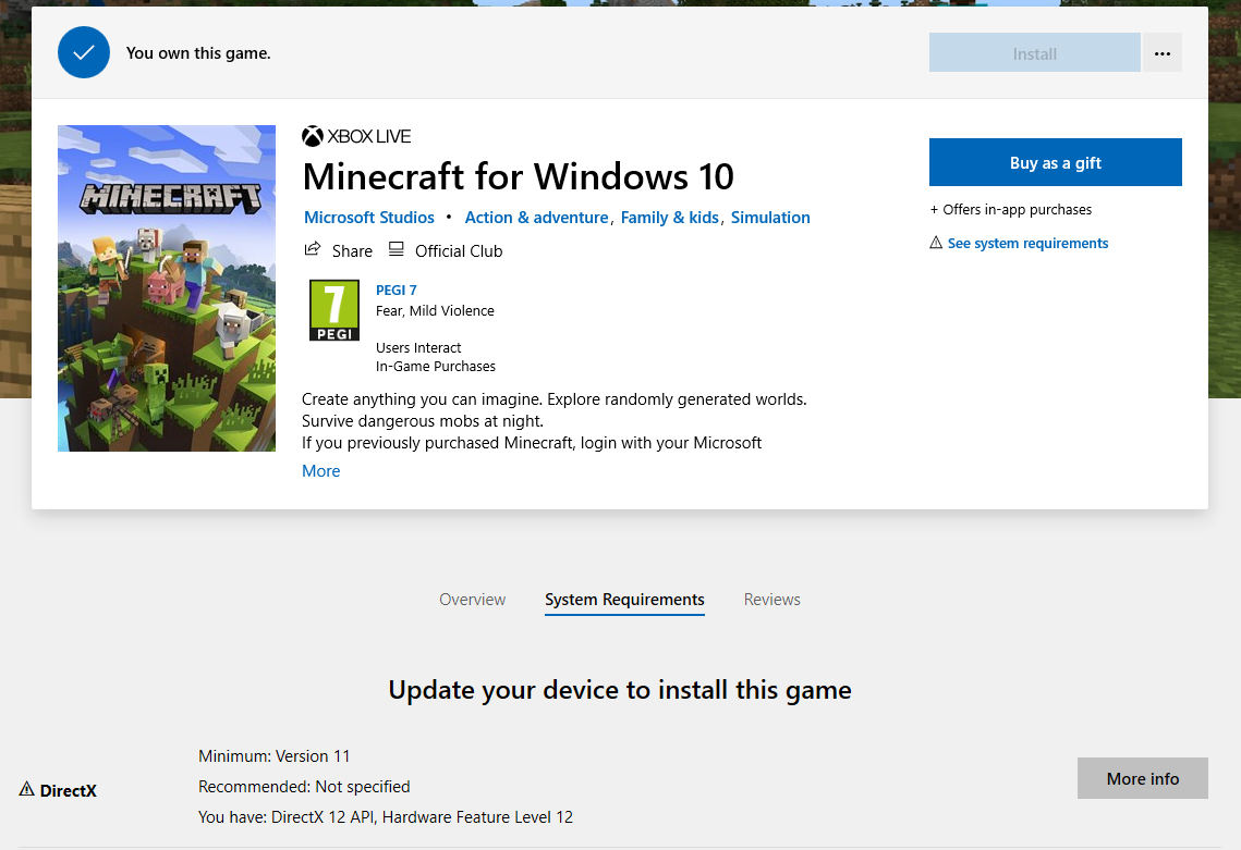 Microsoft Store does not detect that i meet system requirements 6d6e2cee-ff65-4987-8463-7c23eb79a05d?upload=true.png