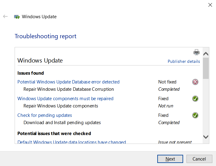 Can't update Windows 10 to version 1903 since it came out