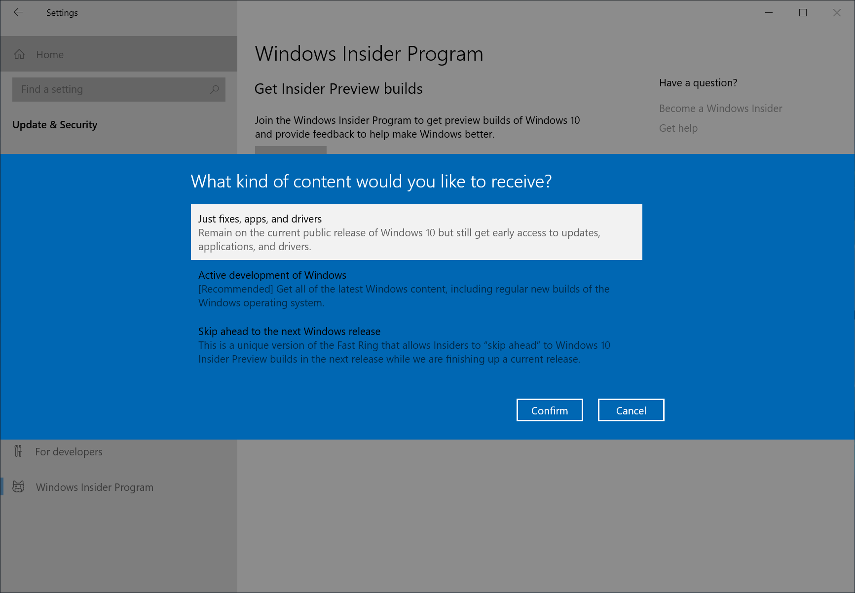 Getting the November 2019 Update Ready for Release  Insider 6ee8456d51191ccb95b1683c73642e7e.png