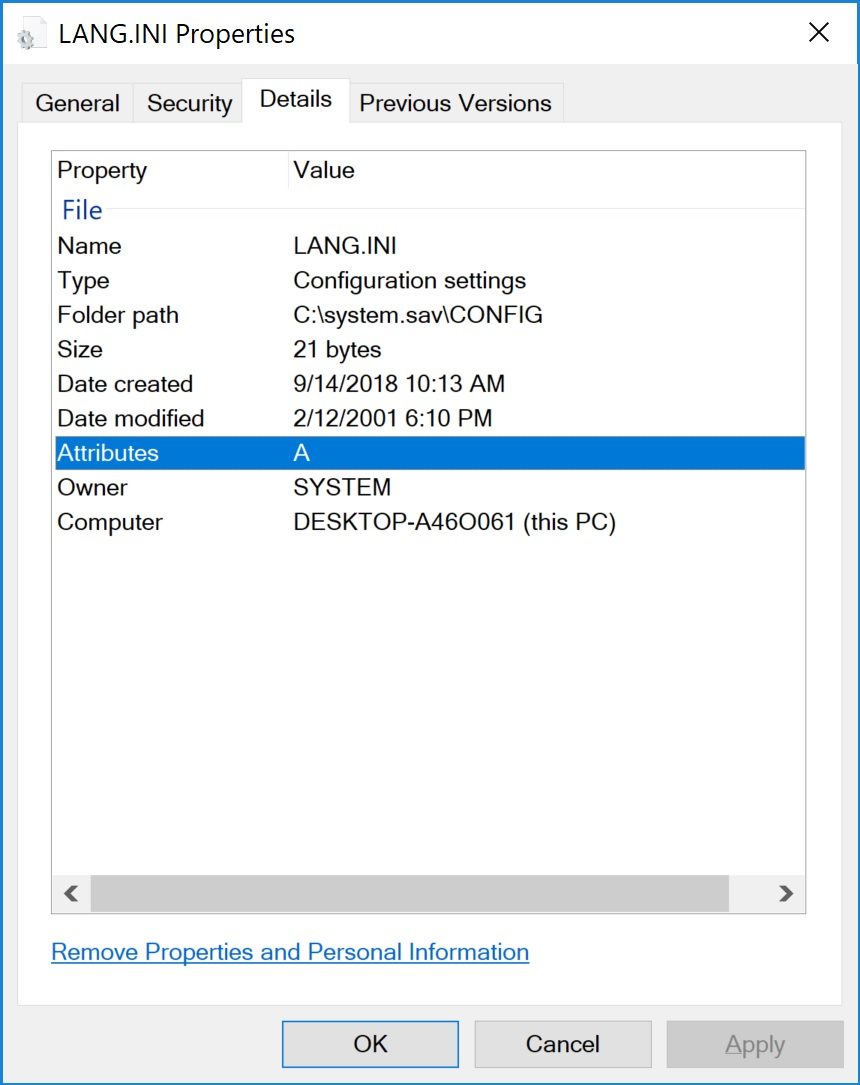 how to change date created on a file windows 10