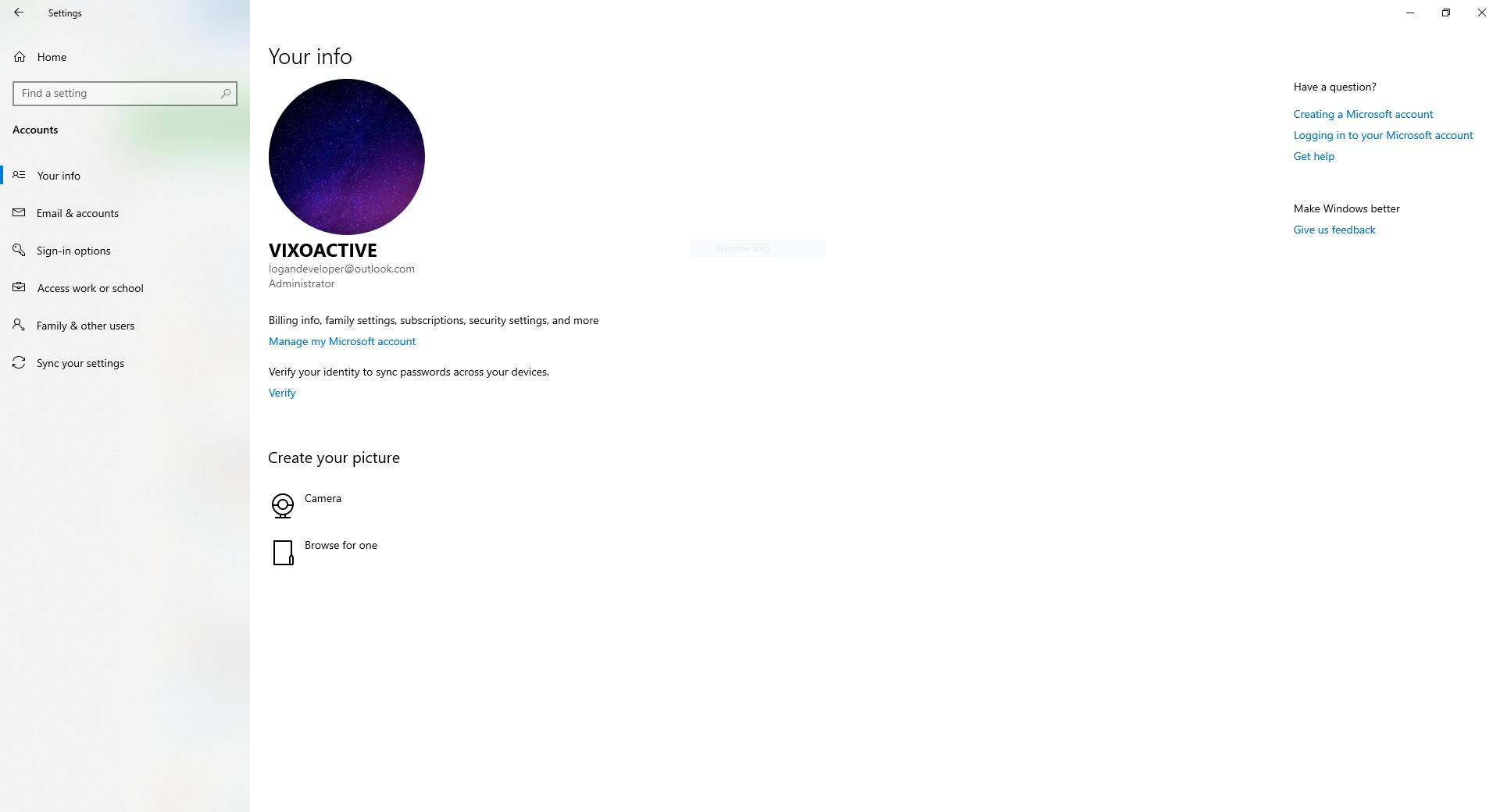 I can't convert a Microsoft account to a local account on Windows 10 1909 717a540f-09da-479b-87a6-7182ca807a6b?upload=true.png