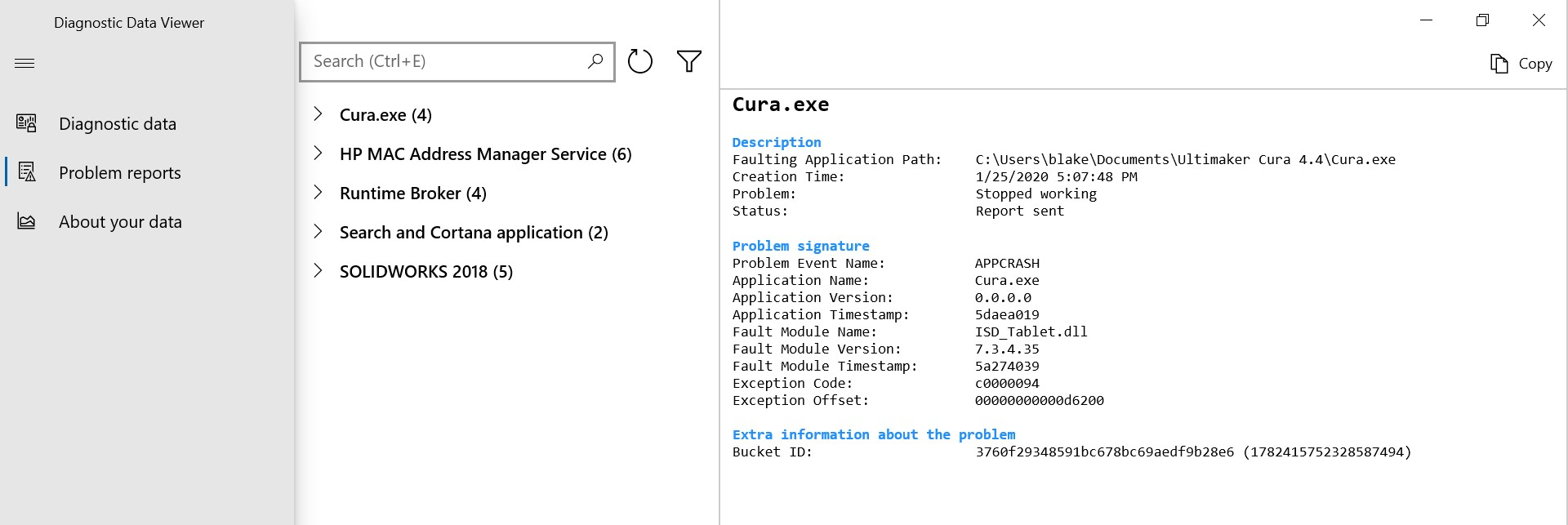 Cura 4.4.1 Crash on Launch 73c60581-3f35-44fe-b983-681ca29f35aa?upload=true.jpg