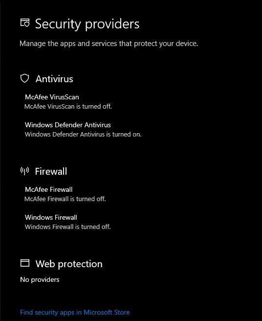 Unable to Turn on Windows Firewall & McAfee Firewall 74560d7d-7cbf-49e3-93dd-647dc86c3c8b?upload=true.jpg