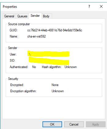 MSMQ send message in remote machine using WCF without adding Anonymous logon user 74d3cb01-c50d-48ce-bda4-68a28add2124?upload=true.png