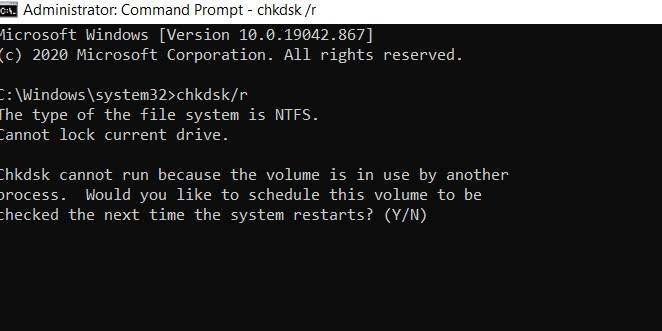 chkdsk cmd prompt error 75162b3a-e013-47d1-b95a-0ca406d2c4b8?upload=true.jpg