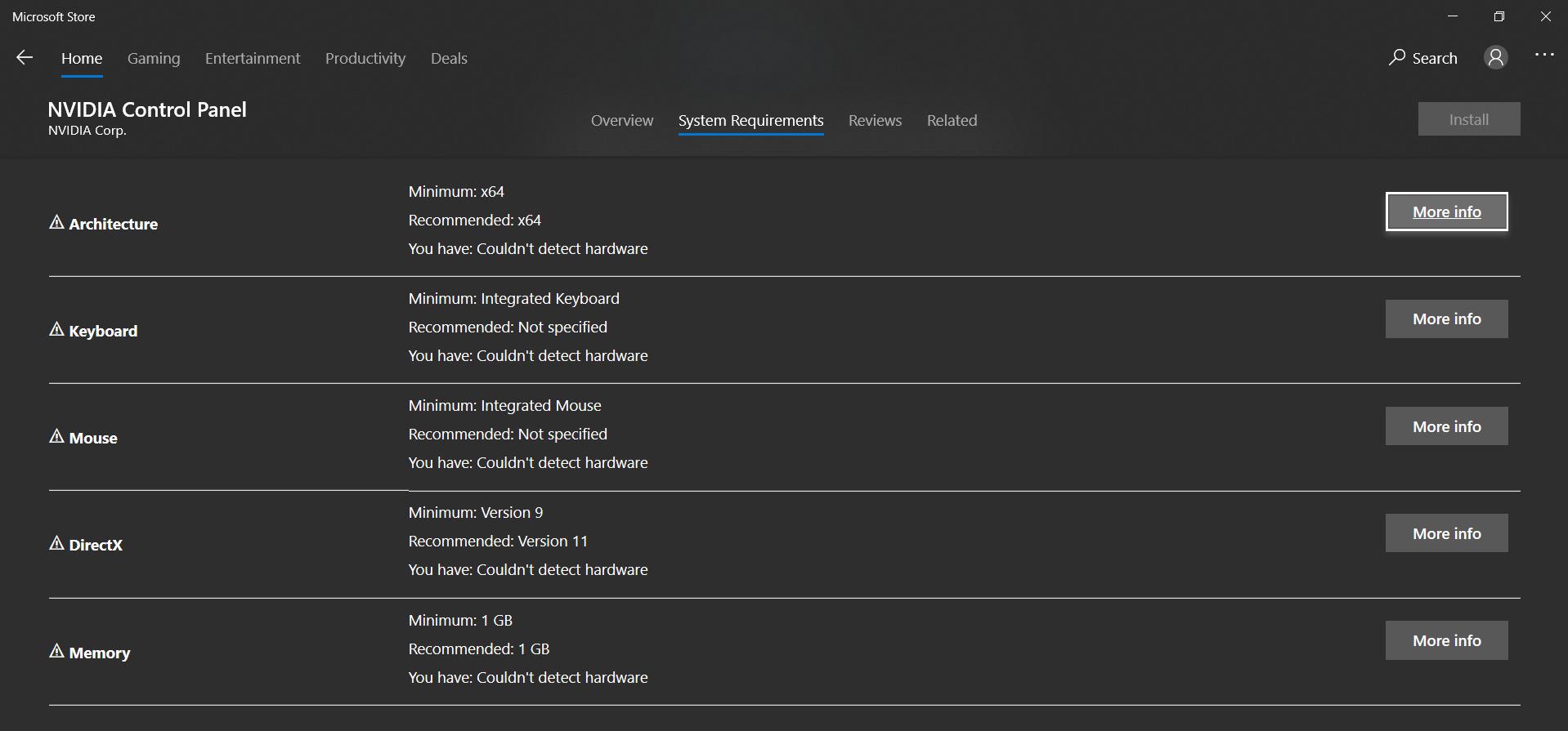"Microsoft Store says ""Hardware not Detected"" 761f482a-0b51-453b-83c9-e93c6dd034e4?upload=true.png"