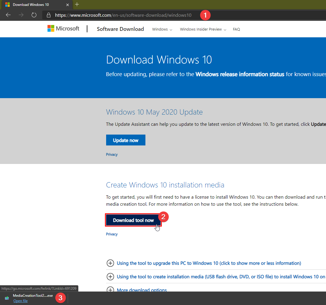 How to download Windows 10 ISO with or without Media Creation Tool 7af0a7a6-0ff3-4b9e-9e44-9c4a90c9ef90?upload=true.png