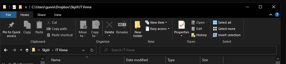Windows 10 explorer location bar shrinking - search bar growing 7af38e4c-34e2-48c1-986a-bf541512b29e?upload=true.png