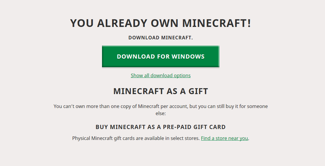 Minecraft Windows 10 Code Not There