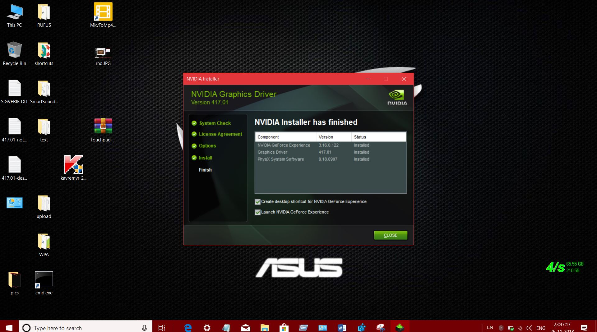 NVIDIA RELEASED NEW GEFORCE WHQL DRIVER V417 01 FOR NOTEBOOKS TO
