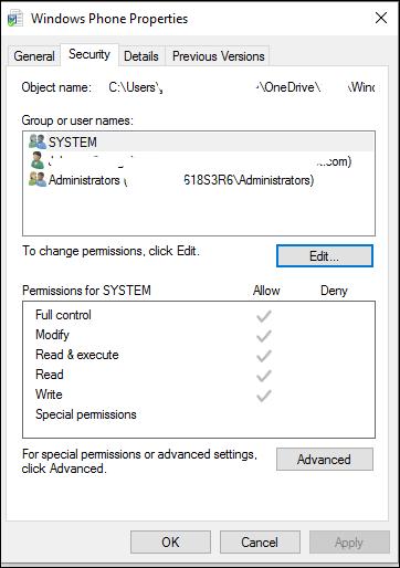 PermissionError: [Errno 13] Permission denied. How to make a folder in the Program Files... 7e509f86-c947-4d23-9d23-817128c849f5?upload=true.png