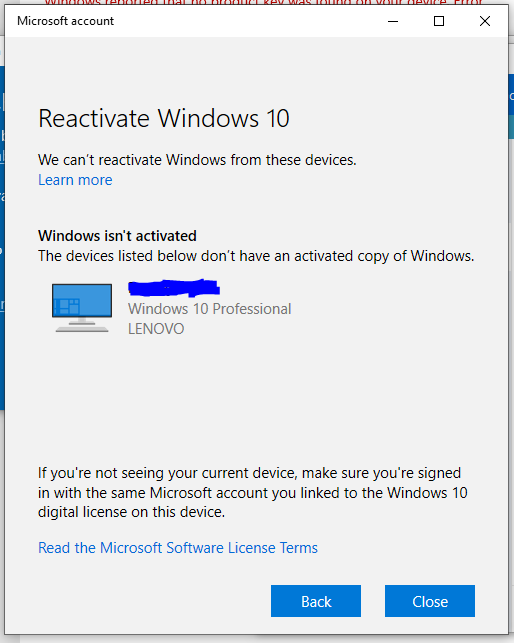 Unable to activate windows after building new pc, regedit, services, and .bat fix all do... 7iLAC.png
