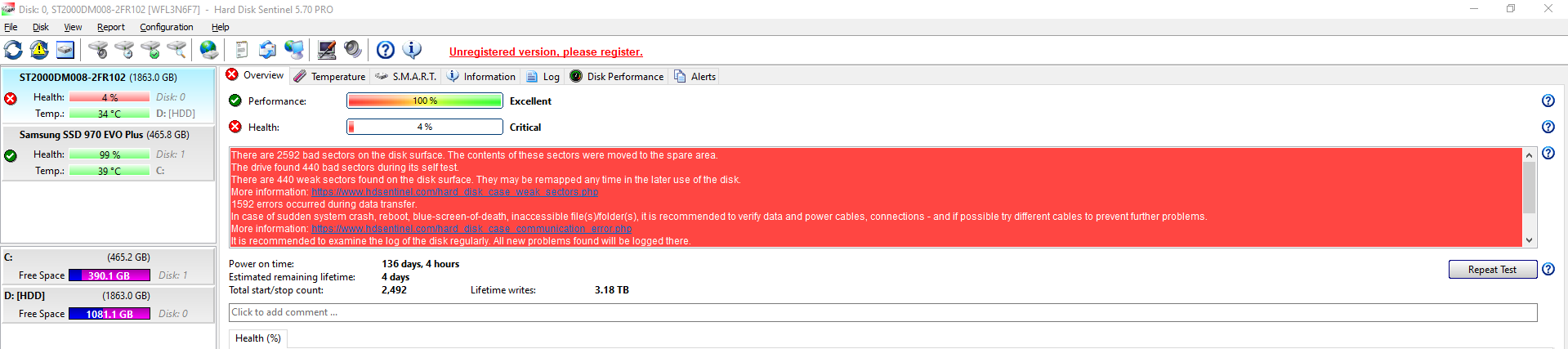 HDD is about to fail, bad sectors... 7MRSqwz.png