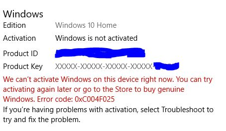 Reactivating Windows 10 after a hardware change, error 0xC004F025 & 0x803fa067 81879ad2-eb25-4366-ad54-826d94d30b9e?upload=true.jpg