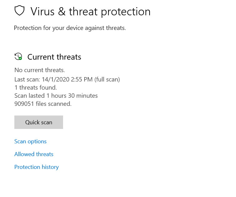 "Windows defender threat ""removed or restored"" but still comes up as 1 threat found 81e1e0ec-5947-4eaa-9223-f6b7aeca17e1?upload=true.png"