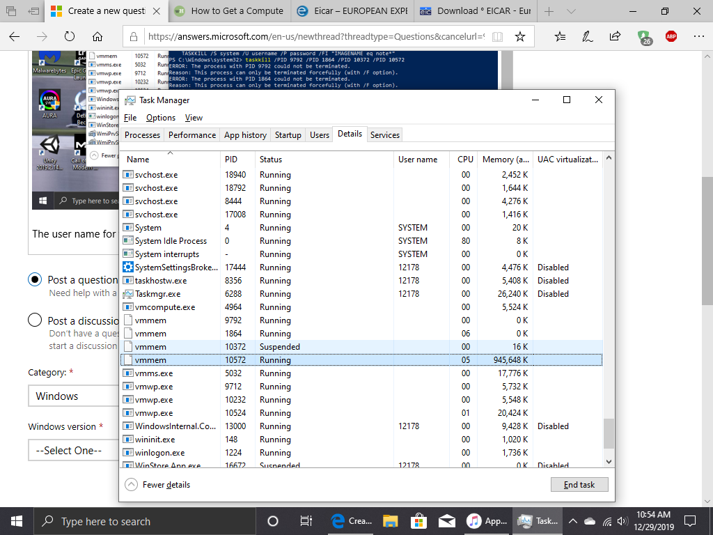 Vmmem process will not be killed. Windows sandbox. 82a94c73-1562-4589-b323-a379e140516e?upload=true.png