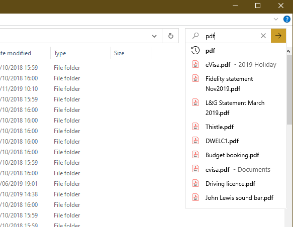 right after I upgraded to 1909 - File Explorer search box stops workin 8367888a-9c91-40f3-b4a6-9cd3ac248467?upload=true.png