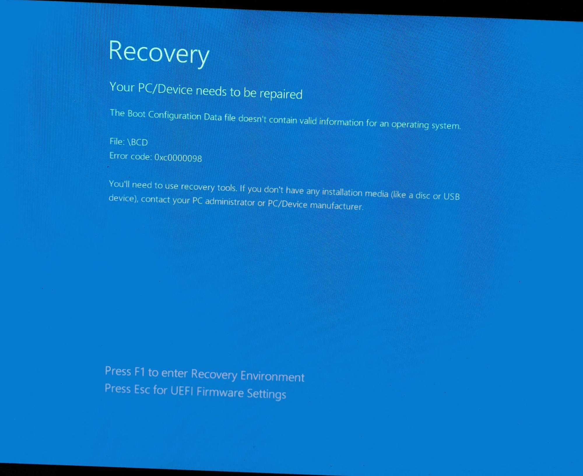 Blue Screen Error ; Fail to enter Windows Recovery Environment (WinRE) 858f272e-9645-4e95-9da9-eba9be5a1b06?upload=true.jpg