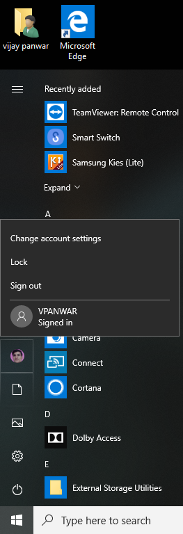 Windows 10 latest version 1809 shutdown problem , without signin another account it shows... 86e15e81-c36e-4f52-aa51-cc2ca29fe0e7?upload=true.png