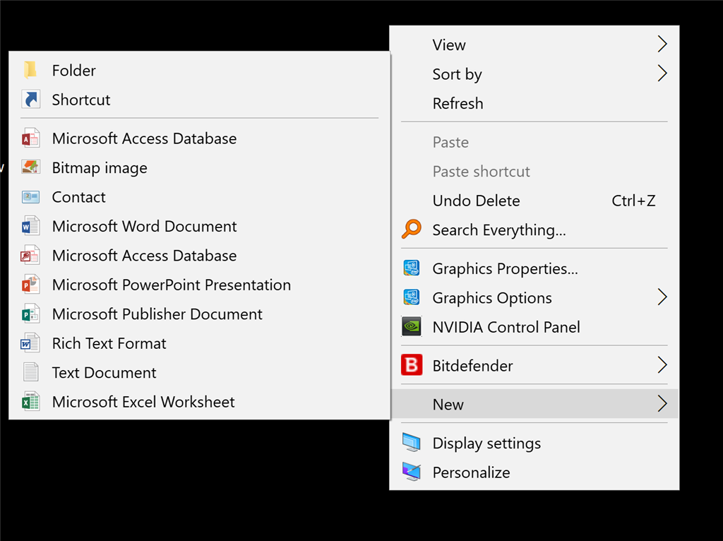 On the desktop the right click new folder option is missing 898ca56f-12a5-43e9-ace7-2e78b437acf7.png
