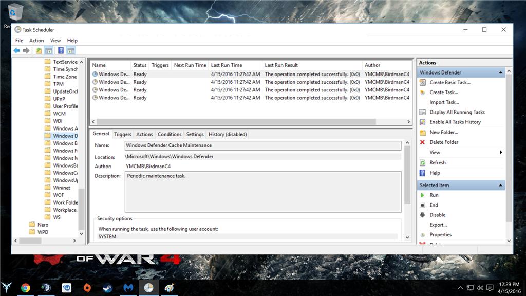How do I set triggers for Microsoft Windows defender? 89d71a04-a7dc-4124-b3be-ff4ba3134bf0.png
