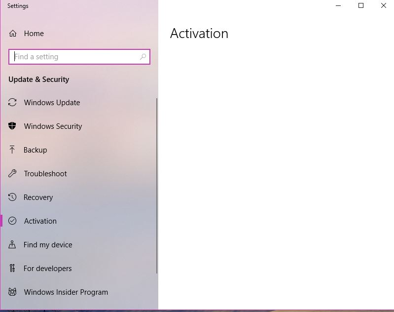 windows 10 wont activate after imaging