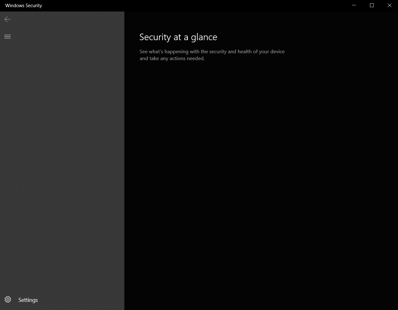 Windows Security is blank and Windows Defender isn't running. Please help, what to do? 8ae90910-251b-44d0-b494-9c50260adba6?upload=true.png