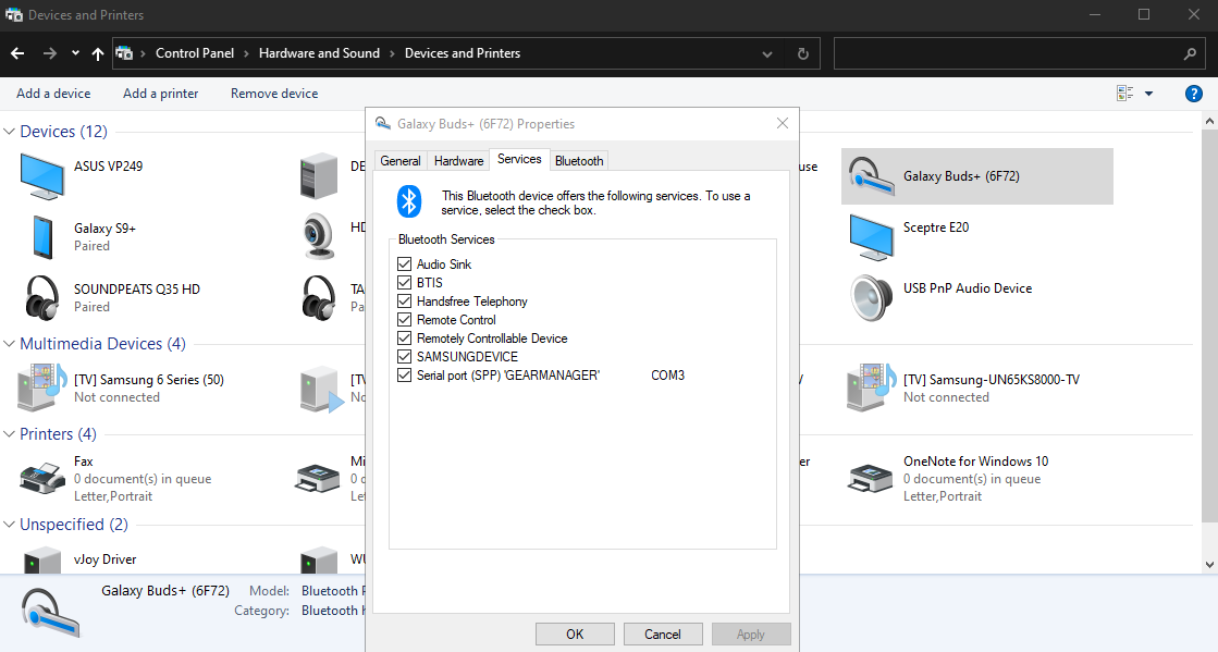Bluetooth not working despite being connected 8ef2ae3b-d781-4597-acd0-9729ce662899?upload=true.png