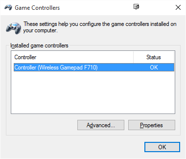 Logitech F710 wireless game pad not working 8ZEeq.png