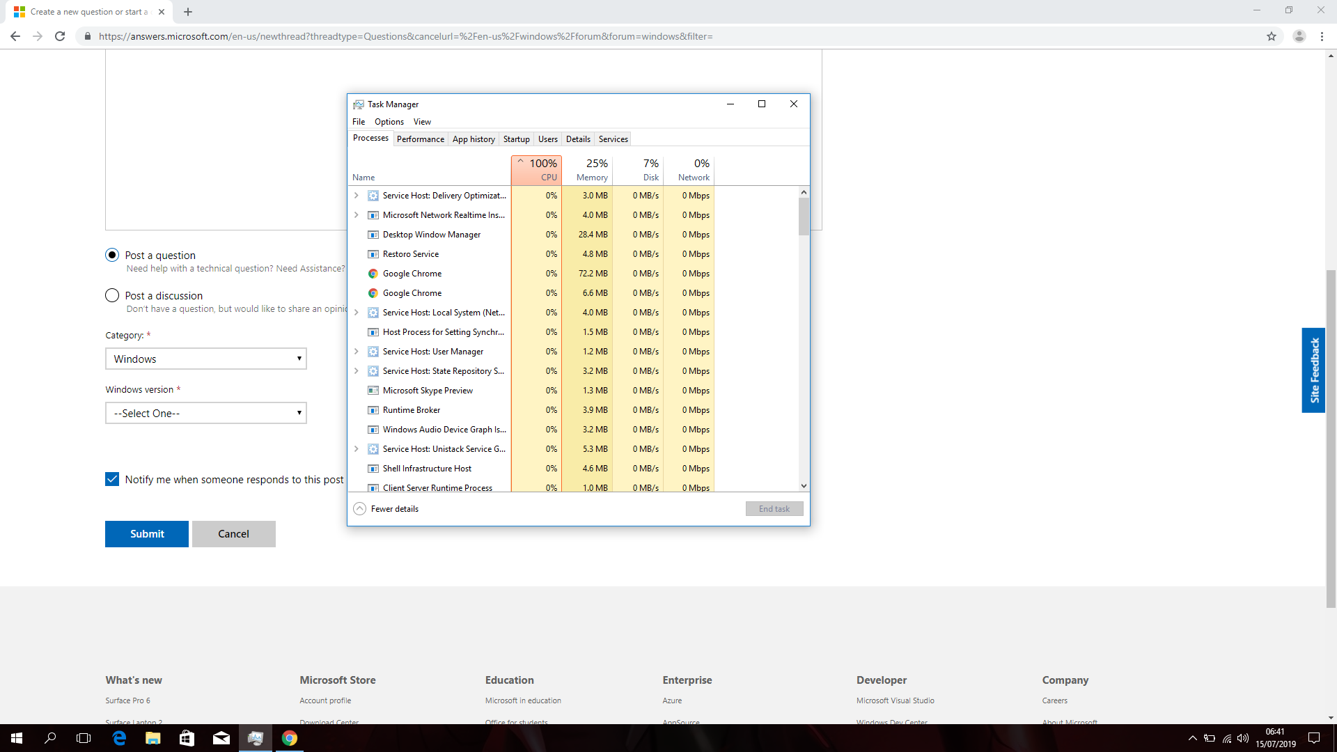 100% CPU usage after PC factory reset 933c9a78-e6a7-4c99-9b01-dbd5cdfd0018?upload=true.png