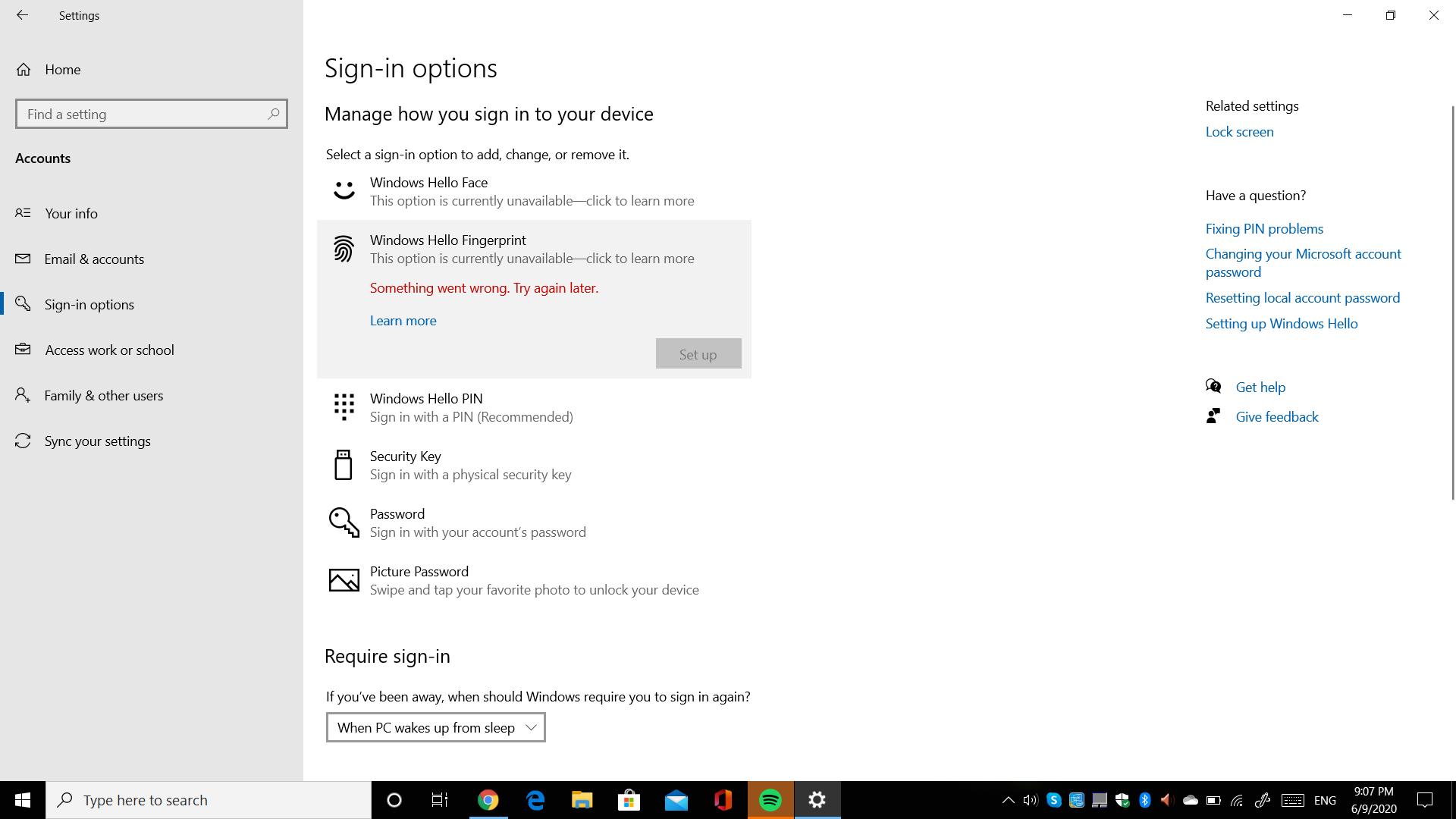 Windows Hello Face and fingerprint error 951adfc3-d5bb-468c-9bb0-414b94819f0d?upload=true.png