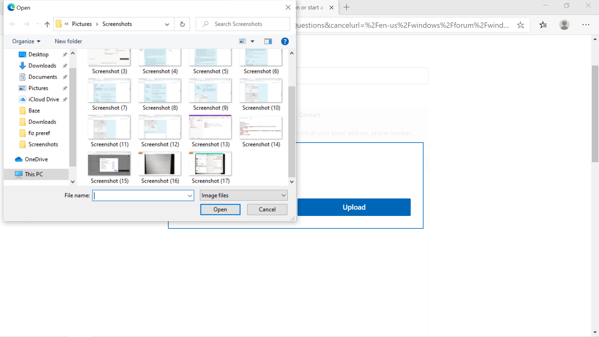 Every installation of an app/insert file window appears blurry 98aa7ea7-103f-4cad-b4b4-c4f218942e04?upload=true.png