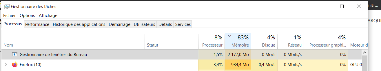 Desktop Window Manager uses 3go out of 7 of my RAM - What is happening ? 991556fd-e886-43ad-baae-003a742007ca?upload=true.png