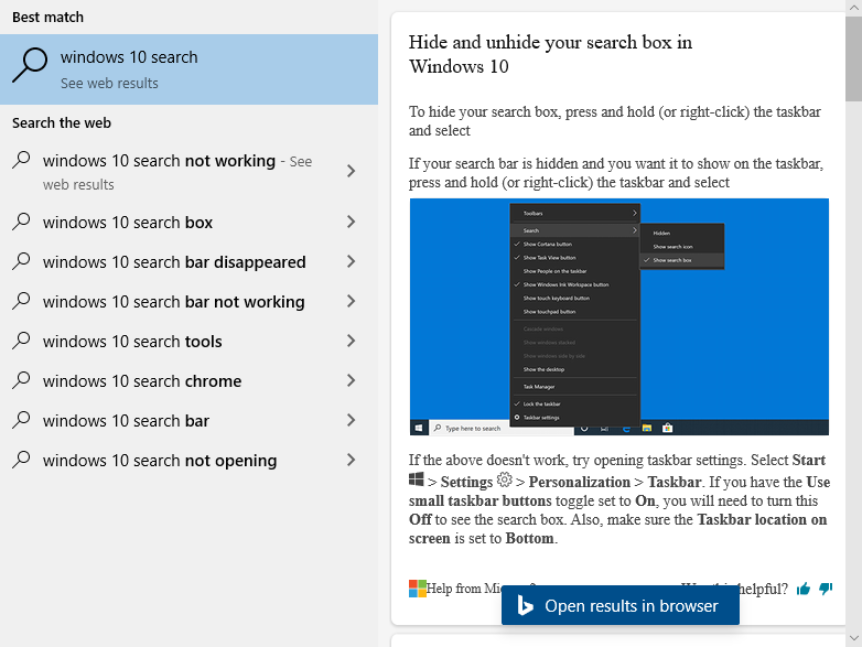 Windows search web preview using wrong font 9c29c58c-a682-4275-ab7c-083b3b0c86ef?upload=true.png