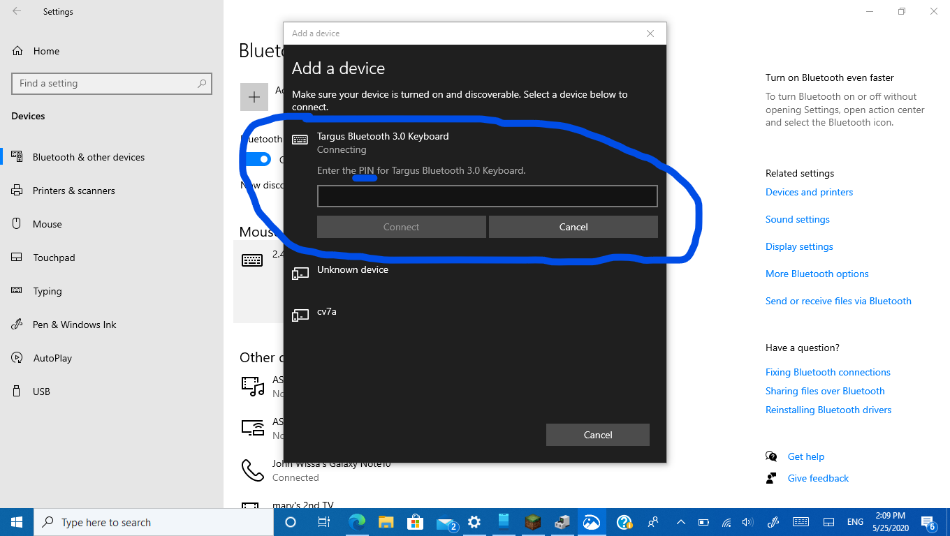I am having trouble connecting a Bluetooth keyboard to my Windows 10 Laptop 9cb81c01-7554-4771-be43-f5c3f160a5d6?upload=true.png