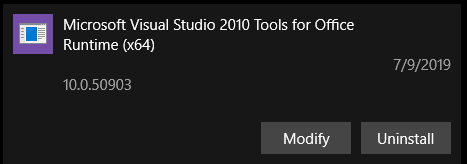 Is [Microsoft Visual Studio 2010 Tools for Office Runtime] safe to remove? 9e23686d-7829-4607-b0eb-e73f100c8f56?upload=true.png