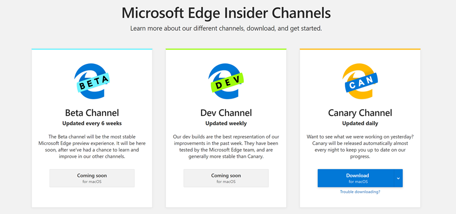 Introducing the first Microsoft Edge preview builds for macOS 9f18bd34e93a00b3498265f39bb07a8c.png