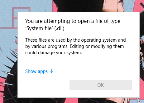 """Each time I turn on my computer I get a """"System fille .dll"""" error a38bd691-70a9-43e0-bafc-1a64b72c72a1?upload=true.png"""