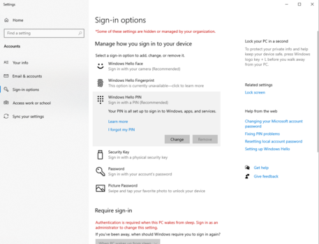 Windows Hello PIN - I forgot my PIN: Just keeps looping doesn't let me change. a46615fd-91bf-481c-b17e-1a41f599bb0f?upload=true.png